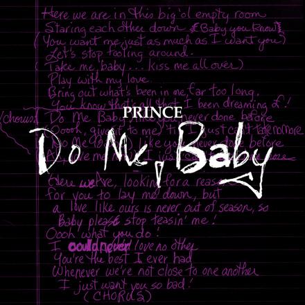 Do Me, Baby (Demo)