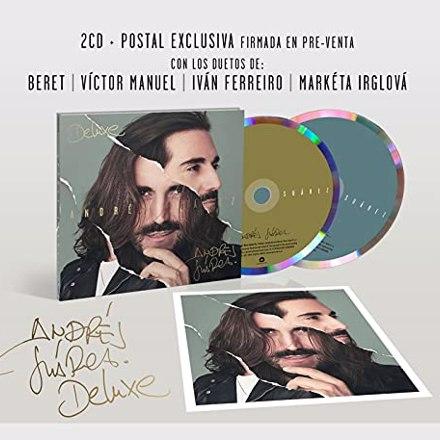 Andrés Suárez - Andrés Suárez - Andrés Suárez (Edición Deluxe 2 Cd Digipack + Postal Firmada)