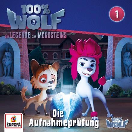 100% Wolf - Folge 1: Die Aufnahmeprüfung (Legenden des Mondstein)