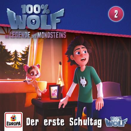100% Wolf - Folge 2: Der erste Schultag (Legenden des Mondstein)