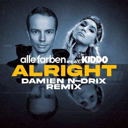 Alle Farben, KIDDO, Damien N-Drix - Alright (feat. KIDDO) - Damien N-Drix Remix