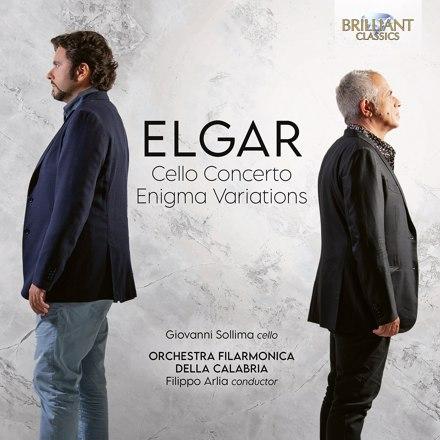 Giovanni Sollima, Orchestra Filarmonica della Calabria, Filippo Arlia - Elgar: Cello Concerto, Enigma Variations