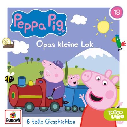 Peppa Pig Hörspiele - Folge 18: Opas kleine Lok