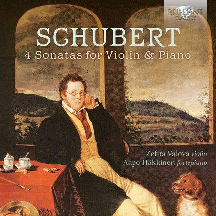 Zefira Valova, Aapo Häkkinen - Schubert: 4 Sonatas for Violin & Piano