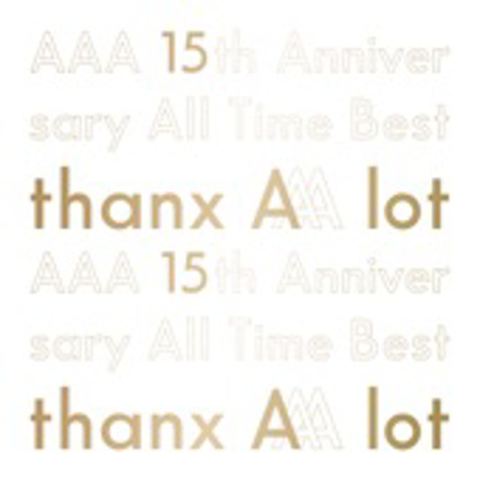 AAA - AAA 15th Anniversary All Time Best -thanx AAA lot-
