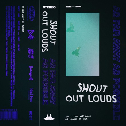Shout Out Louds - As Far Away As Possible